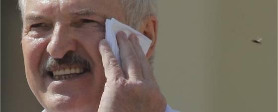 Lukaschenko hat einen Stich