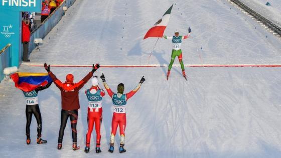Olympia 2018 - 15 km Langlauf klassisch: Die Ankunft der Exoten