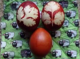 Corona-Care-Paket: belarussische Ostereier