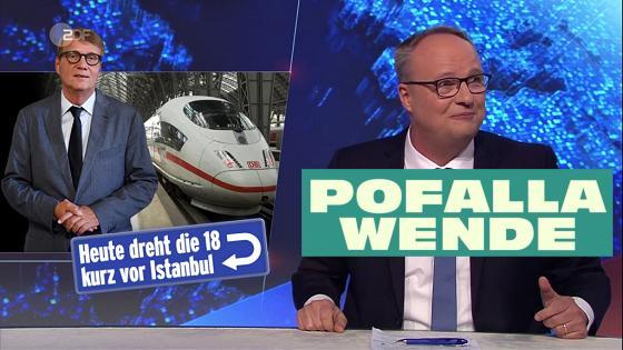 Heute-Show vom 30.11.2018: Pofalla-Wende © ZDF