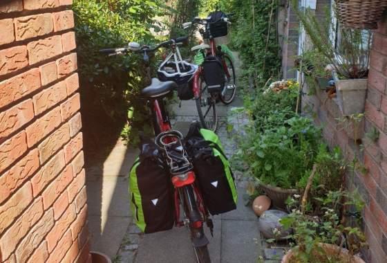 Start der Radtour Tostedt – Rotenburg – Bremen-Vegesack – Bremerhaven - Cuxhaven