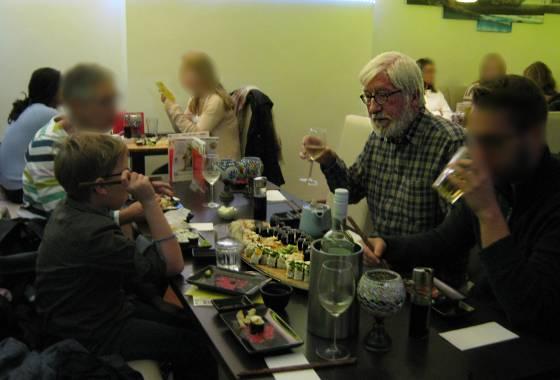 Sushi mit Willi