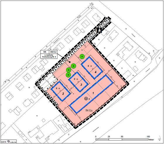 2. Änderung zum Bebauungsplan Nr. 22 Karlstraße, Tostedt