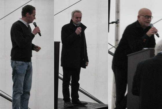 Ansprachen der Herren Nils Neumann / Gerhard Netzel  / Norbert Behrens