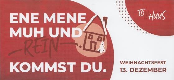 Einladung zum weihnachtlichen Richtfest - 'Am Bahnhof 9/9a' in Tostedt