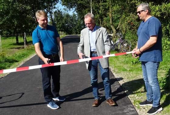 Einweihung der zwei neuen Radwege in Tostedt