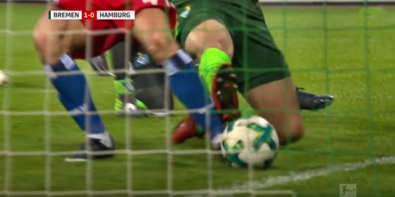 Werder – HSV 1:0 – bedrängt, aber nicht gefoult