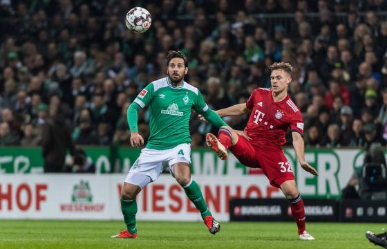 Claudio Pizarro im Spiel gegen die Bayern (13. Spieltag 2018/2019)