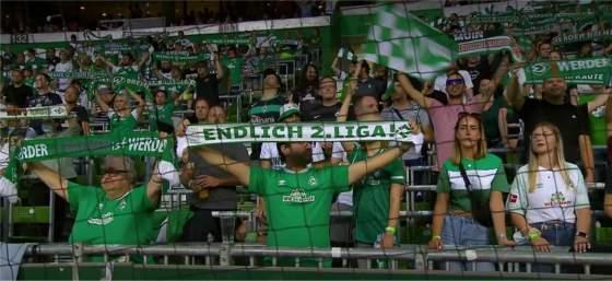 SV Werder Bremen: Endlich 2. Liga ;-)