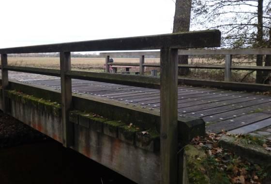 Brücke über die Wümme bei Riepshof