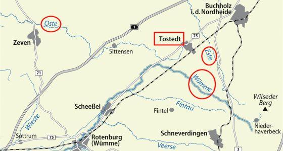 Wümme, Oste und Este - Flüsse rund um Tostedt