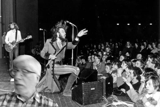 Willi zeitreist zu einem Konzert von Jethro Tull (ca. 1969)